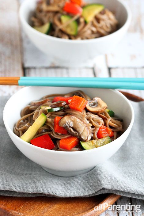 Soba Noodle Salad With Spring Vegetables Recipes — Dishmaps