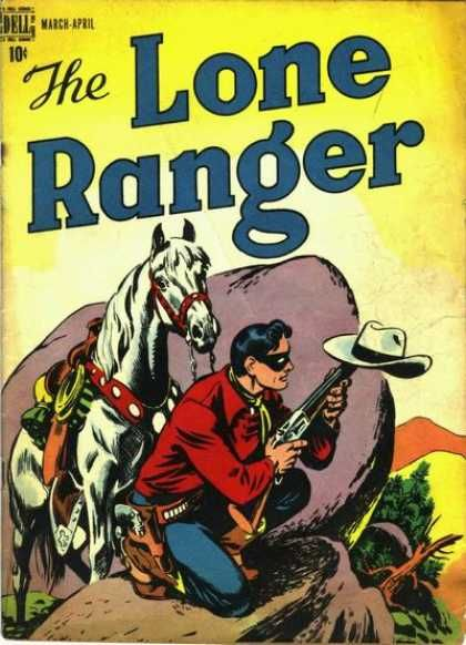 the lone ranger 2 dell golden age comic the lone ranger