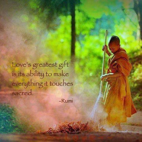 love's greatest gift... #quote
