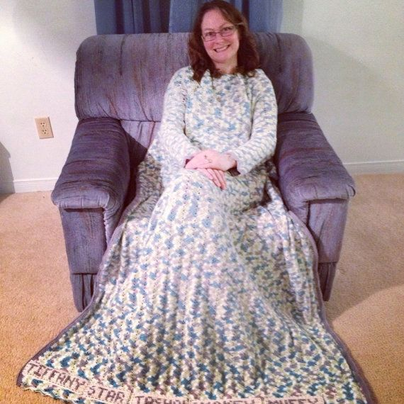 Crocheting With Arms : Handmade Crochet PERSONALIZED Snuggle Blanket with Arms on Etsy, $211 ...