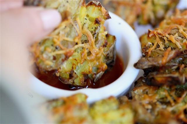 Crispy Smashed Fingerling Potato Fries   What's for Dinner?   Pintere ...