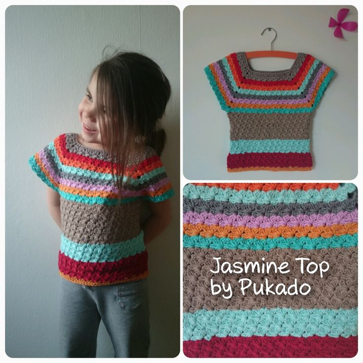 ... Stuart: Jasmine Top by Pukado - Crochet pattern Jasmine Stitch
