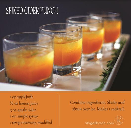 Make This Drink: Spiked Cider Punch   Abigail Kirsch