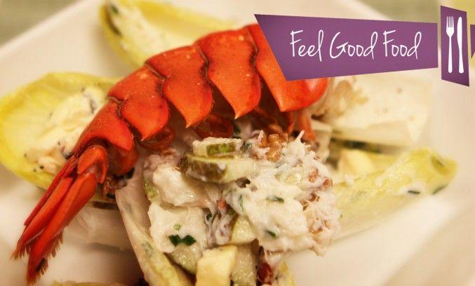 lobster and crab endive salad | Food: Sorted Website | Pinterest