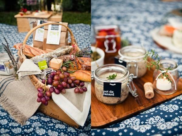 Picnic Picnic Basket Ideas for your Beach Wedding Pinterest