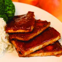 Baked BBQ Tofu   Vegan   Pinterest