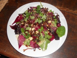 Baby Beetroot and Macadamia Salad | Recipes | Pinterest
