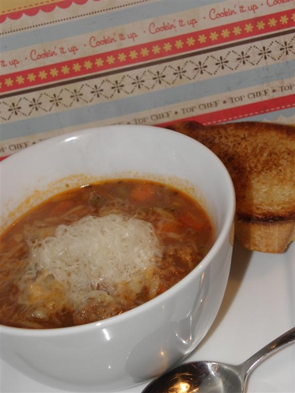 Italian Meatball Soup | SFFS on Facebook | Pinterest