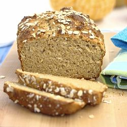 Honey Oat Quick Bread- perfect for those times when you want freshly ...