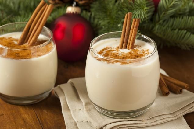 Spiked eggnog recipe | Desserts I Want to Make | Pinterest