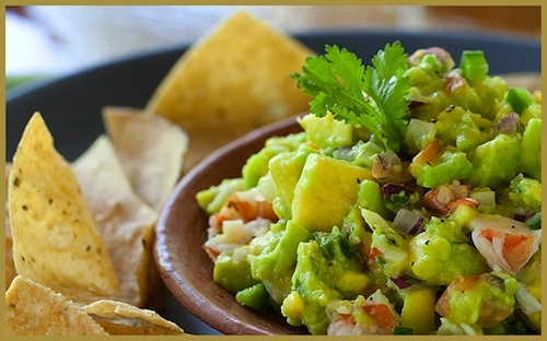 Guacamole with lobster from Belize! | food | Pinterest