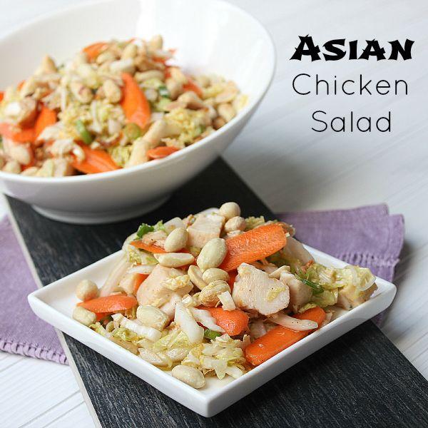 Asian Chicken Salad | Salads | Pinterest