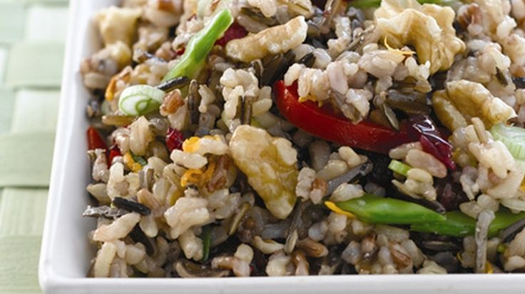 ... wild and brown rice salad recipes dishmaps wild rice and barley salad