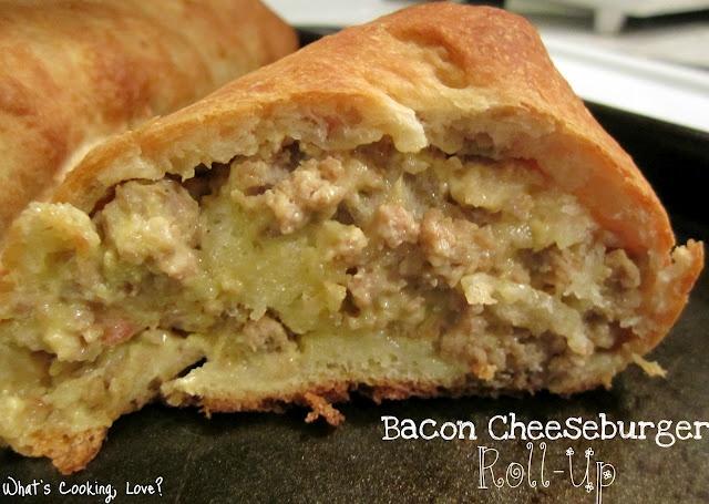 Bacon Cheeseburger Roll Up | Favorite Recipes | Pinterest