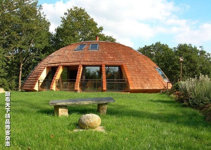 Casa ecol gica casas sustentables pinterest for Constructeur de maison en kit en haute savoie