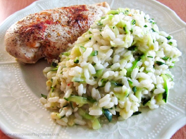 zucchini-risotto | recipes! | Pinterest