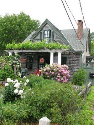 New England Cottage Beach Living Pinterest