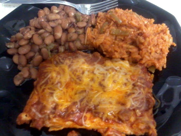 "Tex-mex Style Enchiladas! ""love it"" @allthecooks #recipe #mexican #..."
