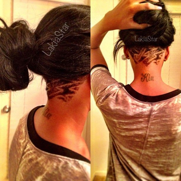 Nape Undercut With Weave | hairstylegalleries.com
