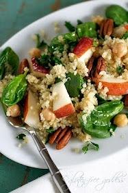 quinoa spinach salad | FOOD/RECIPES | Pinterest