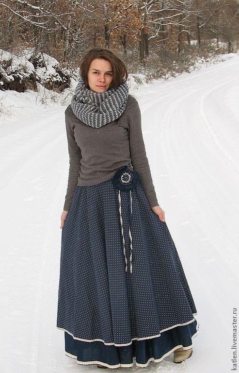 Как сшить юбку на зиму 1