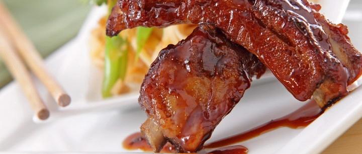 Hoisin BBQ Pork Ribs Sweet Sticky Delicious!!!!! http://www ...