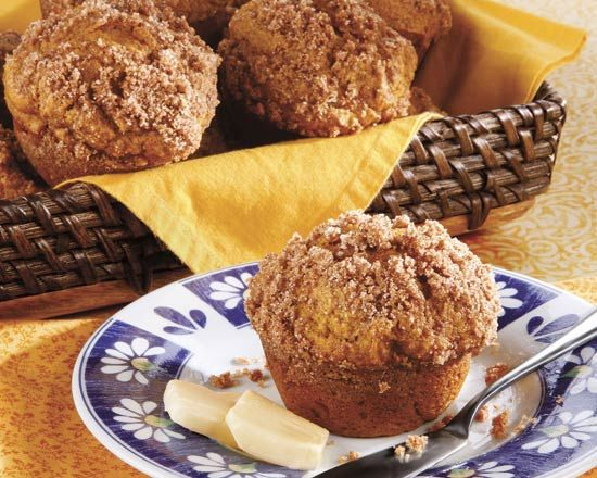 Pumpkin Streusel Muffins - Recipes at Penzeys Spices Want to work on ...