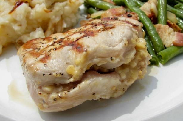 Pork Chops Stuffed With Smoked Gouda and Bacon Read more at: http ...