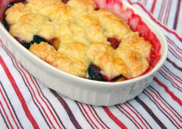 plum cobbler | Yummy in my tummy | Pinterest