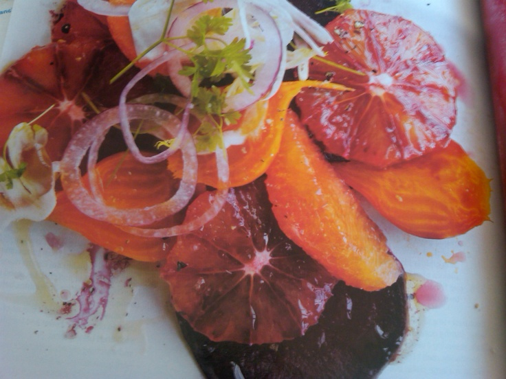 Blood Orange, Beet, And Fennel Salad Recipe — Dishmaps