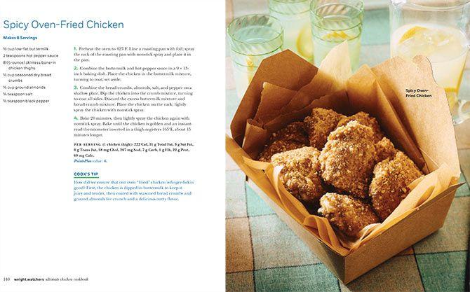 Spicy Oven-Fried Chicken | Weight Watchers | Pinterest
