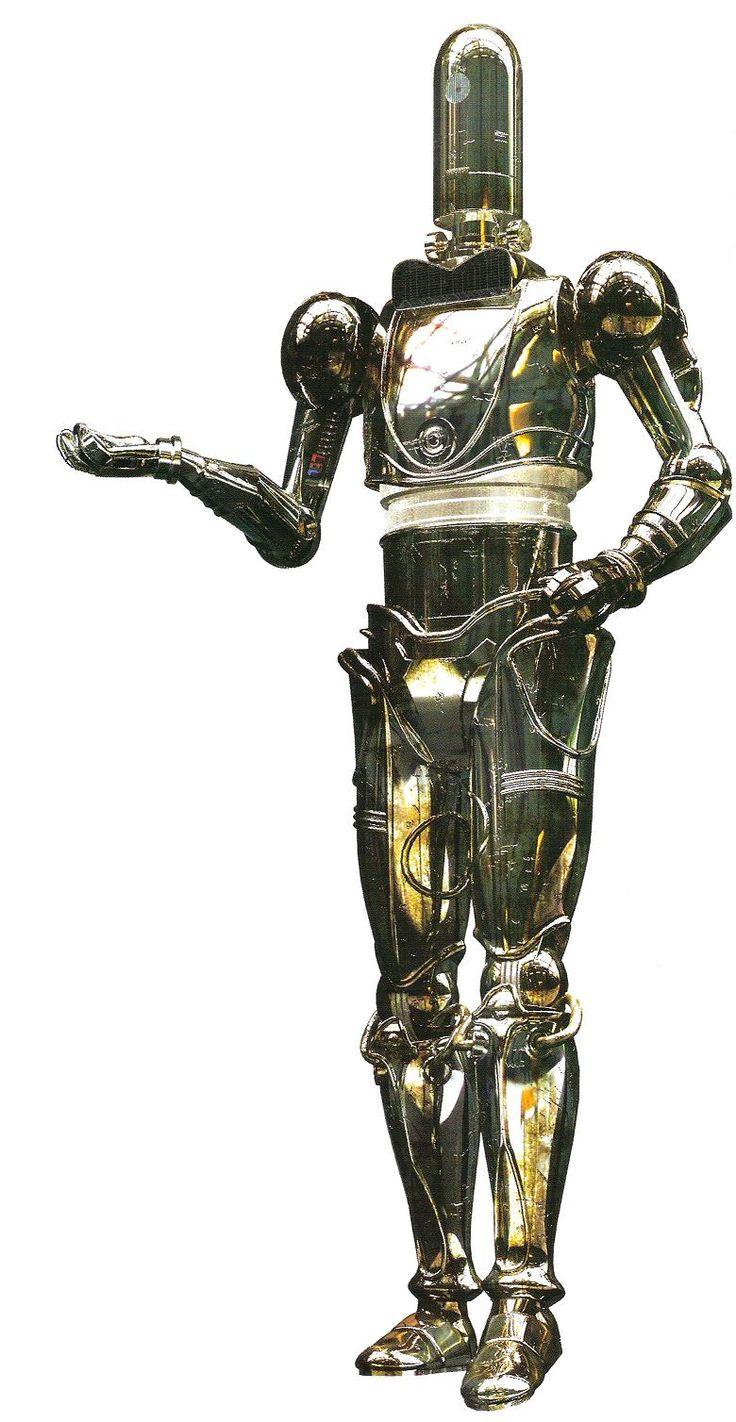 Planet Robots Star Wars