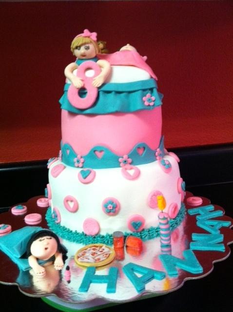 Slumber Party Cake Images : Slumber Party Cake Crafty Foods Pinterest