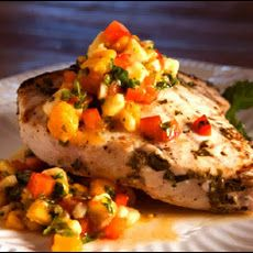 Grilled Swordfish with Mango Salsa | eat better | Pinterest