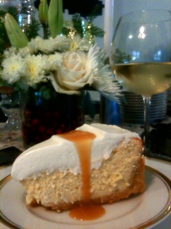 salted caramel vanilla cheesecake....omg | Desserts | Pinterest