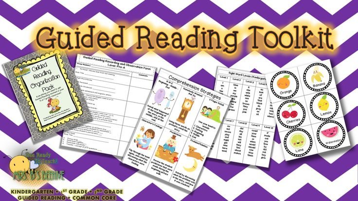 Everything you need to start guided reading