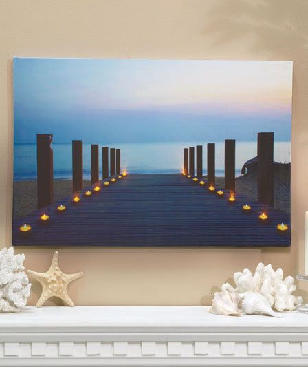 Led Wall Sconces Conceal Hidden Weather Forecast : LED Lighted Wall Art LTD Commodities Lighting Design Pinterest