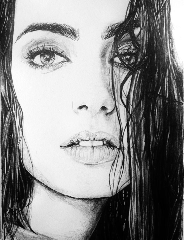 Lily Collins | Pencil ...