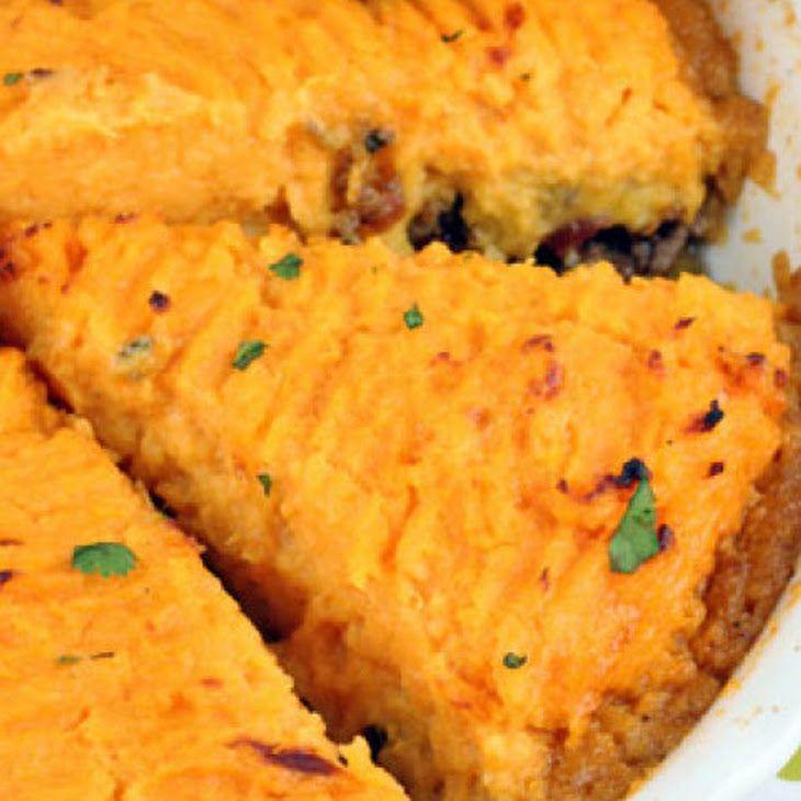 Southwestern Sweet Potato Shepherd's Pie Recipe — Dishmaps