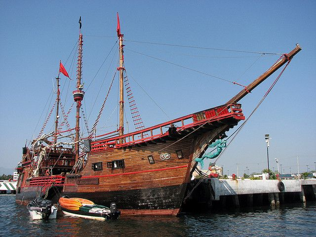 Real pirate ships