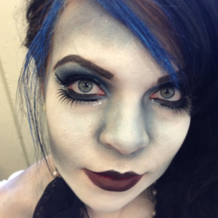 Corpse Bride Makeup Pictures : Corpse bride makeup Cosplay Pinterest