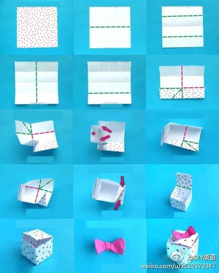 Origami Hinged Gift Box Tutorial DIY YouTube