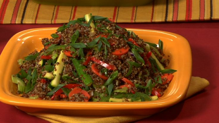 Quinoa Stir Fry with Summer Vegetables | Healthy | Pinterest