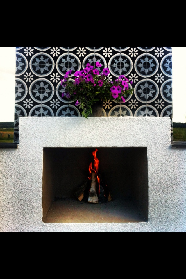 1000 Images About Tile Fireplace On Pinterest