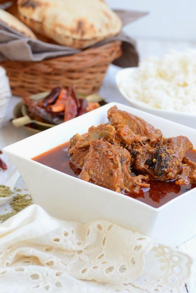 Mutton Rogan Josh. A delicious Kashmiri Mutton recipe.