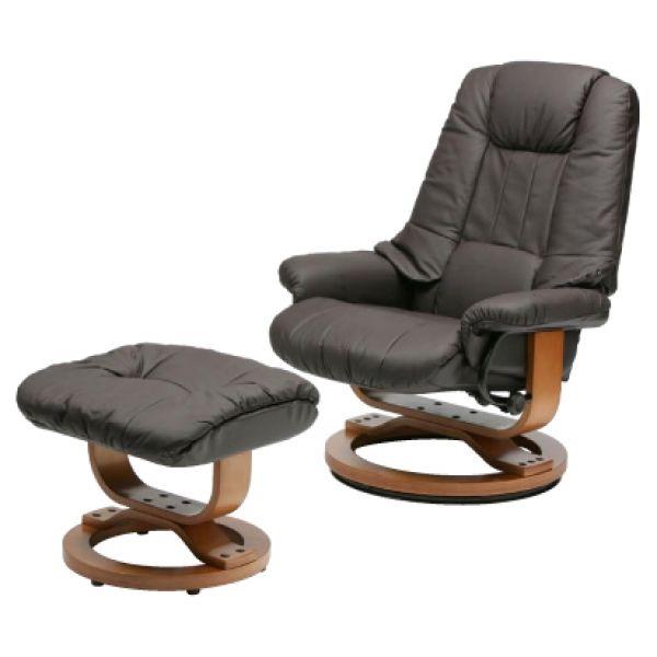 chair recliner bone leather like swivel glider rocker chair