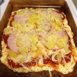 Hawaiian Cauliflower Crust Pizza #healthy #fit #food • ReaganRambler ...