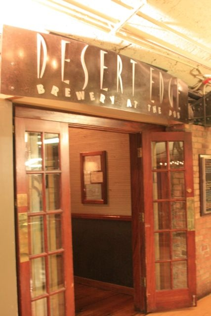 Desert edge brewery utah