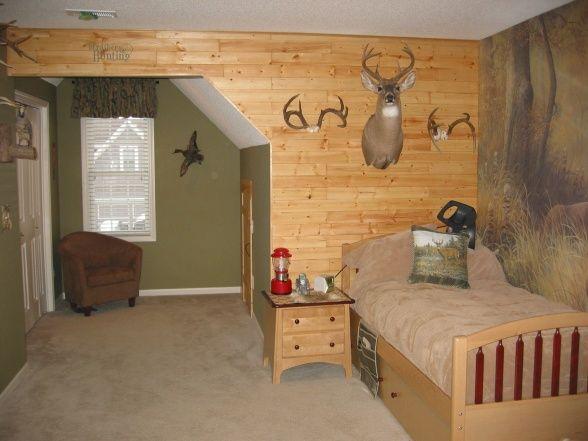Boys hunting room boys hunting room pinterest - Hunting bedroom decor ...