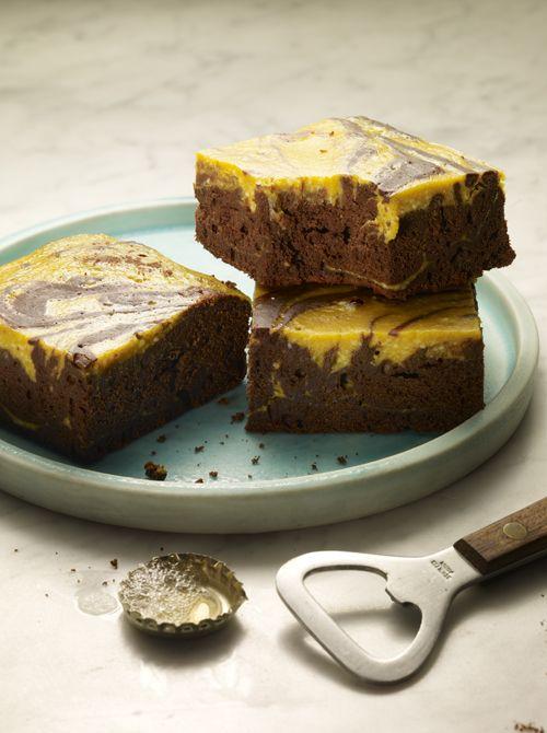 Chocolate Stout Pumpkin Brownies | Oh how I love pumpkin | Pinterest